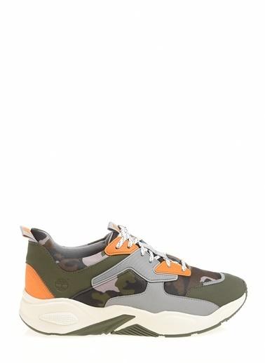 Timberland Delphiville Textile Sneaker Kadın Yeşil
